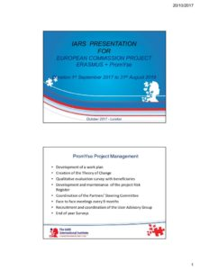 thumbnail of Master Slide Set and IARS Presentation