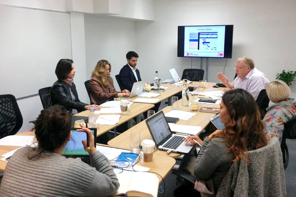 The kick off meeting of the PROMYSE project took place in London, on 30th of October